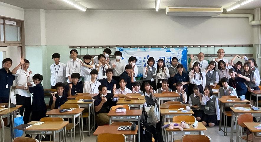 神奈川県立横浜氷取沢高等学校 ボランティア部ワークショップ