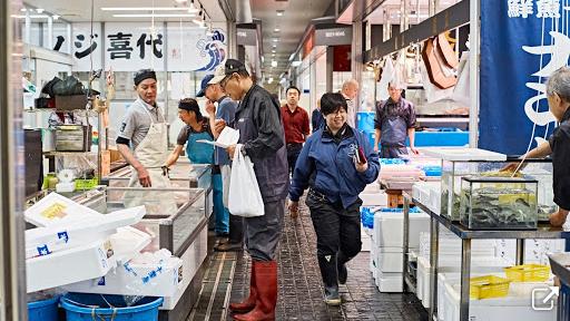 豊洲市場ツアー