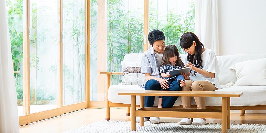 ENJOY HOME with うみぽす